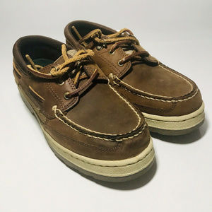 Boys Toddlers Thom McAn Leather Brown Sz 5.5